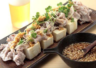 豚しゃぶサラダ | ズバうま!おつまみレシピ | アサヒビール