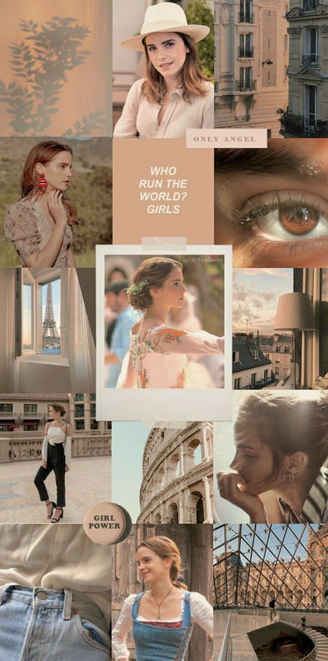 Emma Watson collage wallpaper