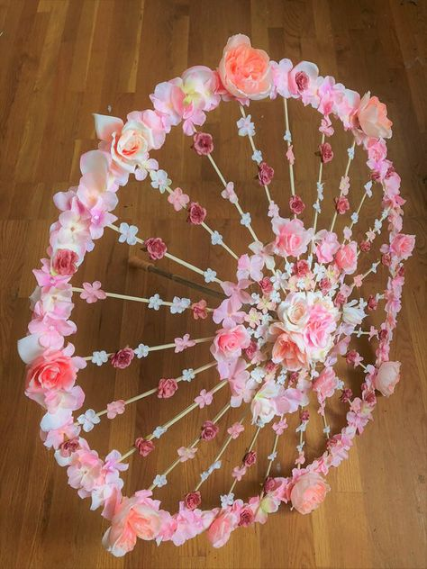 Sneak-a-Peek Parasol Floral Wedding Umbrella Custom Bridal | Etsy