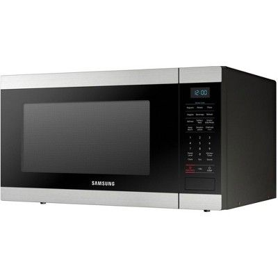 Samsung 1 9 Cubic Foot Countertop Microwave Oven Black Certified