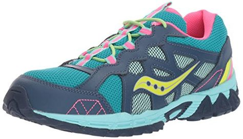acc539b18897 Saucony Excursion Lace Sneaker Little KidBig Kid NavyTurquoise 65 Wide US  Big Kid    Click image to review more details. (This is an affiliate link)