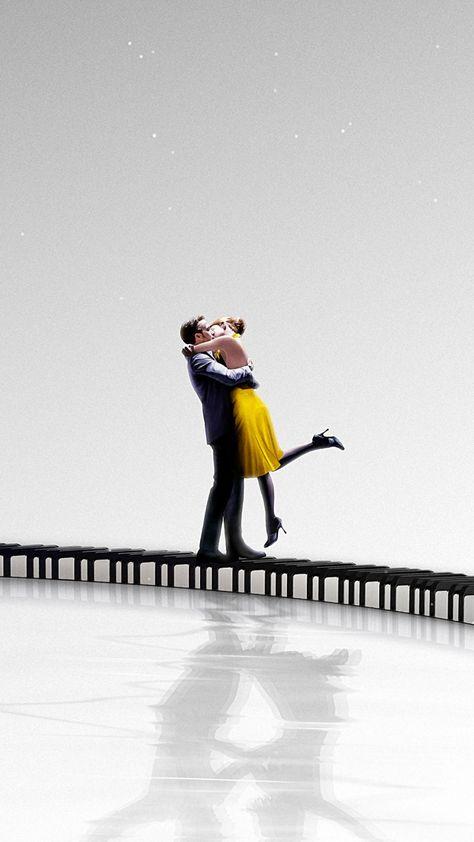 La La Land, Emma Stone, Ryan Gosling, 2016 movie, poster, 720x1280 wallpaper