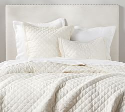 Pin By Bette Dickinson On Edging Pottery Barn Bedding Quilted