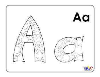 Bubble Letter Alphabet Coloring Posters Bubble Letters Alphabet Lettering Alphabet Coloring Posters