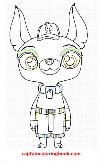 Unicorn Kitty Coloring Pictures Pictures