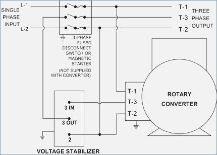 Static Phase Converter Wiring Diagram Converter Diagram Wire