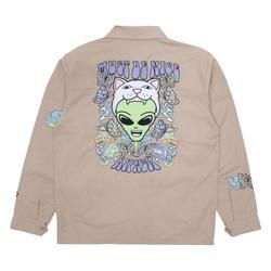 Official Ripndip Apparel Accessories Skate Lord Nermal Ripndip In 2021 Jackets Sherpa Jacket Types Of Jackets