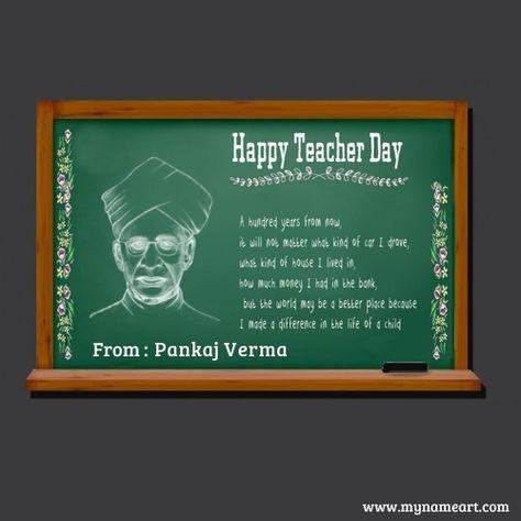 Teachers Day Happy Teachers Day Teachers Day Card Teachers Day