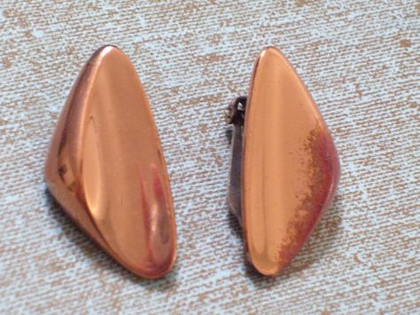 Vintage RENOIR Copper Modernist Retro Clamshell by TheCopperCat, $16.00