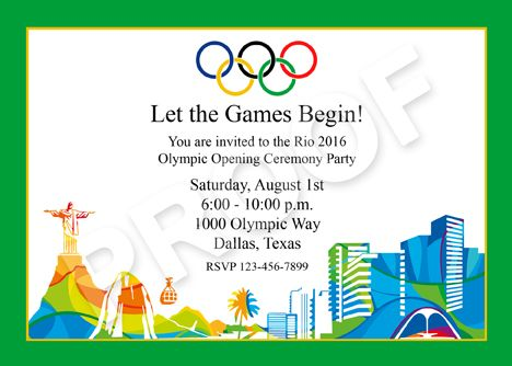 104 best my party printables images on pinterest party 2016 rio olympic invitation and party printables stopboris Choice Image
