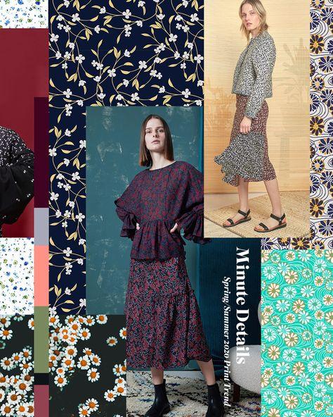 Spring/Summer 2020 Print & Pattern Trend - Minute Details | Patternbank
