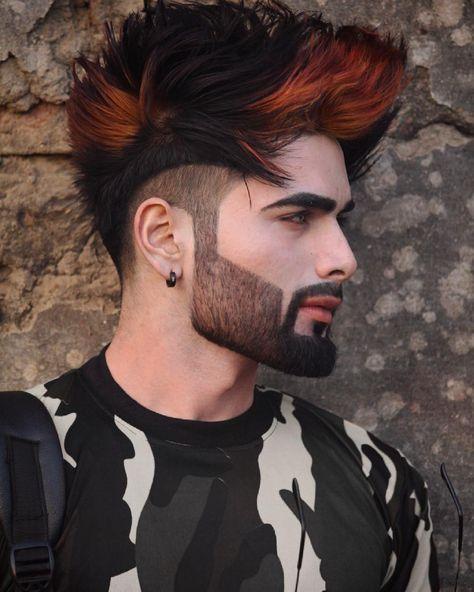 5 294 Likes 10 Comments Hairmenstyle Official Hairmenstyle On Instagram Yash Tomar Hair Men Hair Color Beard Styles For Men Men Haircut Styles