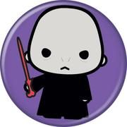 Harry Potter Voldemort Animated Style Character Pin Button