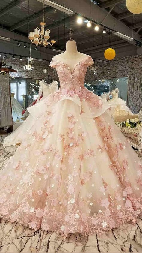2021 Pink Ball Gown