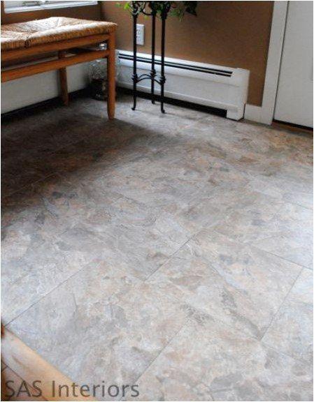Did You Know That You Can Grout Peel And Stick Vinyl Tiles To Look Just Like Ceramic Tile I Had No Idea Homeflooringidea Vinyl Flooring Flooring Diy Flooring