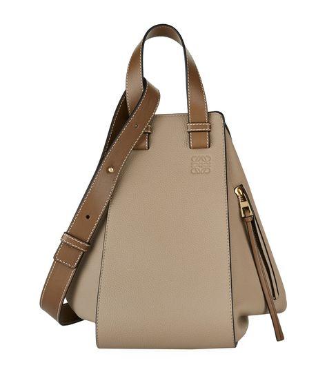LOEWE MEDIUM LEATHER HAMMOCK BAG. #loewe #bags #shoulder bags #leather