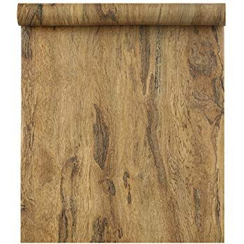 Removable Blooming Wall Peel Stick Wood Panel Prepasted Wallpaper Wallcoverings For Wall 23 6in X 9 84ft Hhm09 Wood Paneling Wall Coverings Vintage Wood