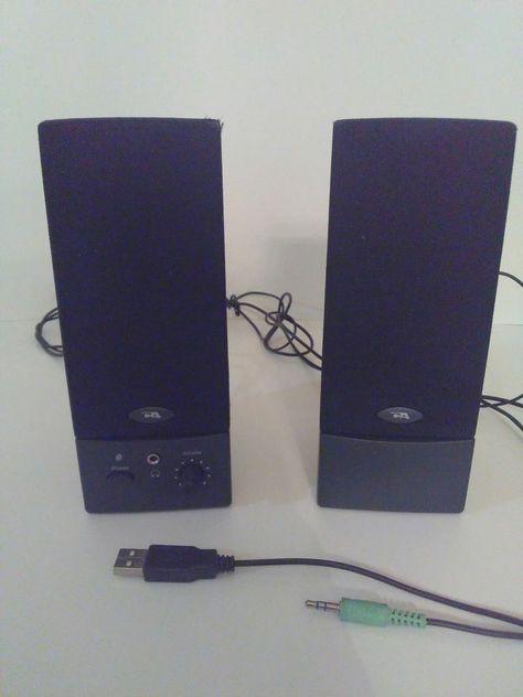 USB Computer Speakers PC Desktop Laptop Stereo for Toshiba Dell HP Lenovo Sony