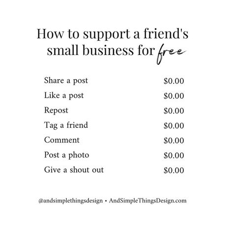 / / How To Support A Small Business For Free #smallbusiness #entrepreneur #supportsmallbusiness