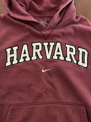 Vintage 90s Harvard Nike Hoodie Travis Scott Style Size M Ebay Vintage Nike Sweatshirt Nike Hoodie Vintage Hoodies