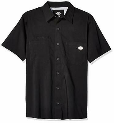 Details About Dickies Men S Performance Cooling Woven Shirt Black