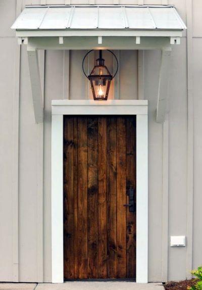 40 Lovely Door Overhang Designs Door Overhang Door Awnings