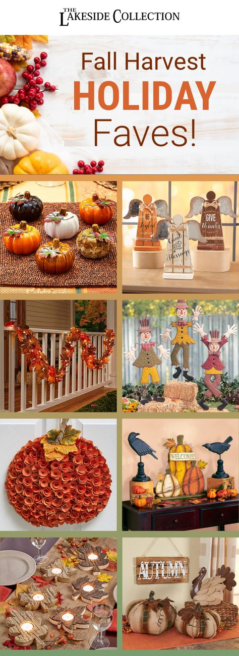 The start of #autumn means the start of #falldecorating. No matter what your favorite part of the season is, we've got #amazingdecor ideas for every corner of your house. Start with the #colorsofharvest, then add a few spooky things for #halloween. Finally, fill your house with the #sparkle of #Christmas. Decorate for every day with our values. #FallDecor #harvest #pumpkins #scarecrow #turkey #rustic #decor