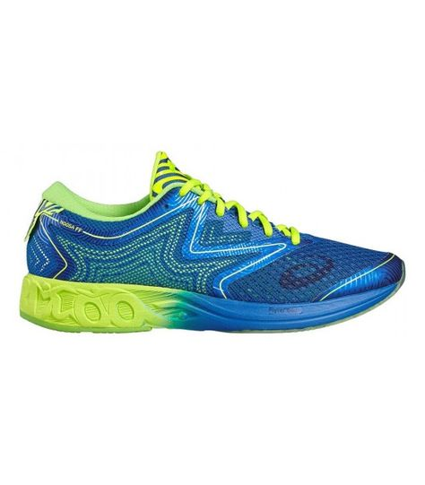 ASICS NOOSA FF IMPERIAL/SAFETY YELLOW/GREEN GECKO | Hoka ...