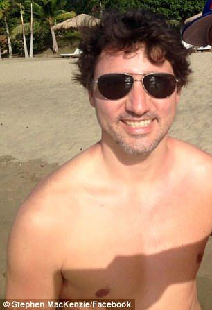 Justin trudeau naked