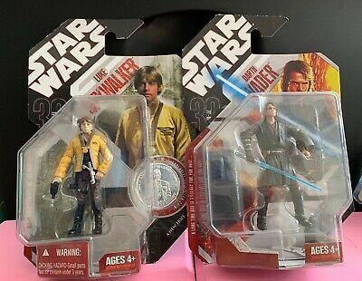 Star Wars 30th Anniversary Anakin Skywalker 02 W Stand Darth Vader 02 Ebay Star Wars Toys Darth Vader Action Figure Collectible Toys Action Figures