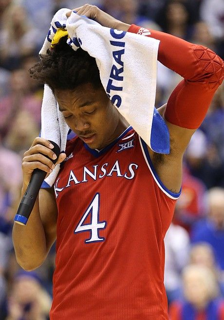 the latest ffb76 3a927 Photo gallery: Kansas basketball v. Texas (senior night ...