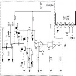 Circuit Diagram of Scada based Wireless Anemometer