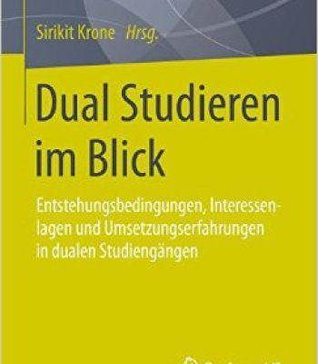 Dual Studieren Im Blick Pdf Studieren Duales Studium Studium