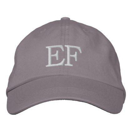 Monogrammed Hats Zazzle Com Monogram Hats Baseball Outfit Baseball Bag