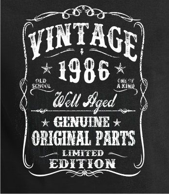 1988 Birthday Gift VINTAGE Shirt Tee For Son T