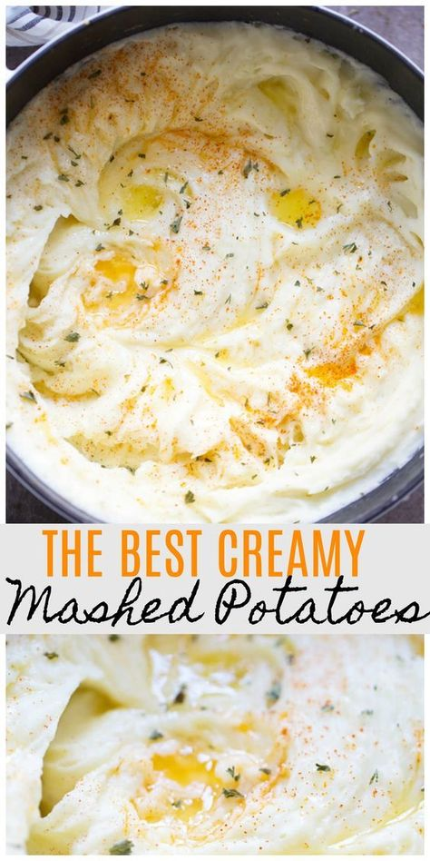 The BEST mashed potatoes!!! Plus, tips to get the PERFECT mashed potatoes every time!!!