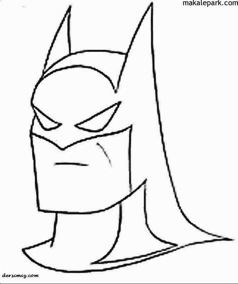 Evde Kolay Batman Boyama Resimleri Batman Boyama Sayfalari