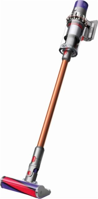 Dyson Cyclone V10 Absolute Cord Free Vacuum Iron Sprayed Nickel Copper Front Zoom With Images Stick Vacuum Cordless Stick Vacuum Cleaner Dyson
