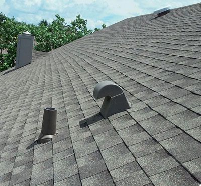 I Really Like That This Shingle Roof Is An Ashy Grey Color This Makes It Easier To Blend In With The Exteri How To Install Gutters Roof Installation Shingling
