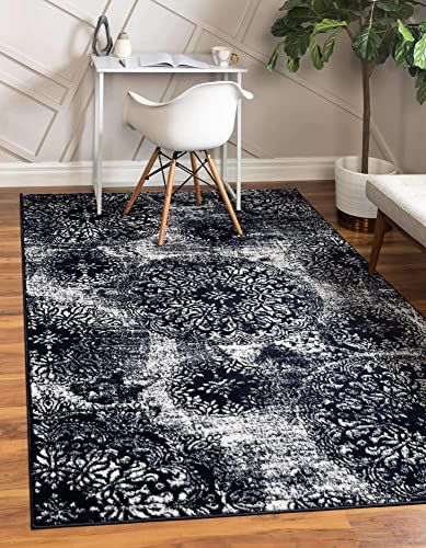 Enjoy Exclusive For Unique Loom Sofia Traditional Area Rug 9 0 X 12 0 Navy Blue Online The108ideashits In 2020 Traditional Area Rugs Traditional Rugs Unique Loom