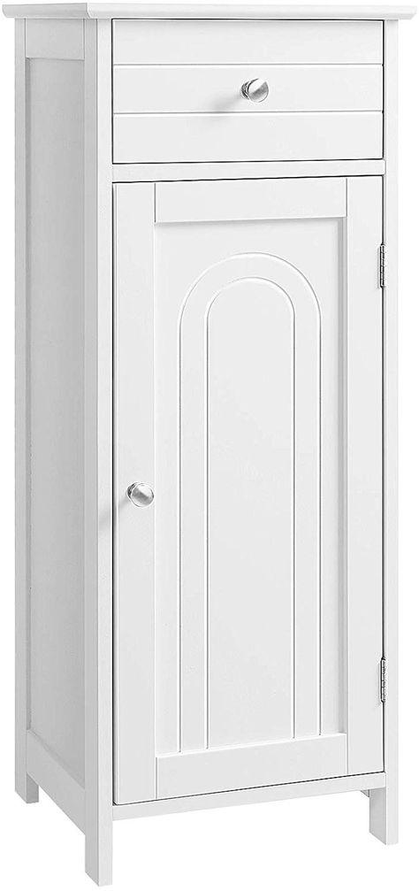 Badezimmerschrank Kommode Badschrank Sideboard Schrank weiß Küchenschrank Holz