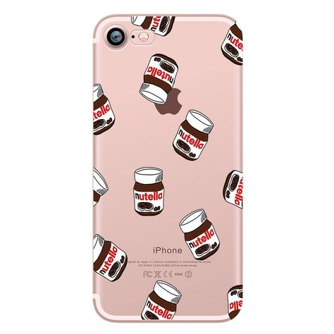 db6975de740 iPhone 7 Case,Eouine iPhone 7 Case Shock Absorbing TPU Bumper Scratch  Resistant Soft TPU Silicone Cover Clear with Design Protective Cover for  iPhone 7, ...