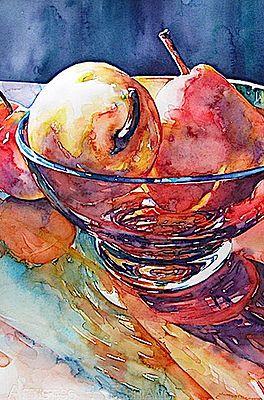 Susan Keith Watercolor Artist Still Life Watercolor Food