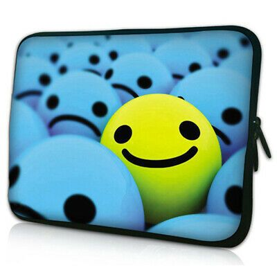 Smile 12 In Laptop Sleeve Case Bag W Handle For 11 6 Mini Laptop Pc Sleeve Case