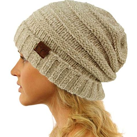 4b1ab1a45bc03 New CC Winter Trendy Warm Oversized Chunky Baggy Stretchy Slouchy Skully Beanie  Hat.   9.99 - 16.99  allfashiondress offers on top store