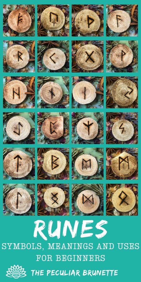 ALL YOU EVER WANTED TO KNOW ABOUT RUNES! This is all about the Elder Futhark Runes and discusses History, Myths and Legend, How to Use Them, Divination, Inscriptions and of Course Meanings and Translations! Including DIY inspiration!