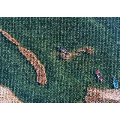 East Urban Home Aerial Shots From An Airplane 71 Green Area Rug Area Rugs Teal Area Rug Light Blue Area Rug
