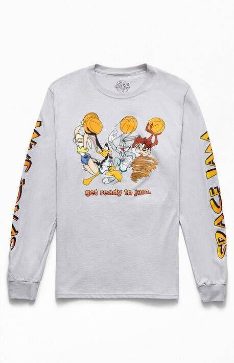 Space Jam Long Sleeve T Shirt At Pacsun Com Pacsun Mens Long Sleeve Tshirt Sleeves