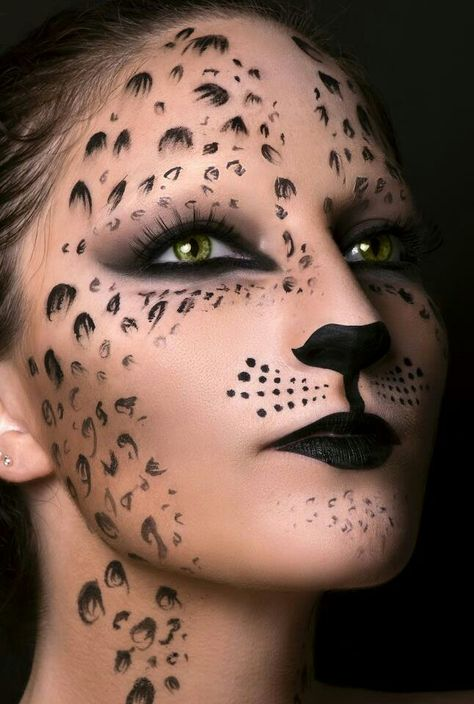 Tiger makeup.