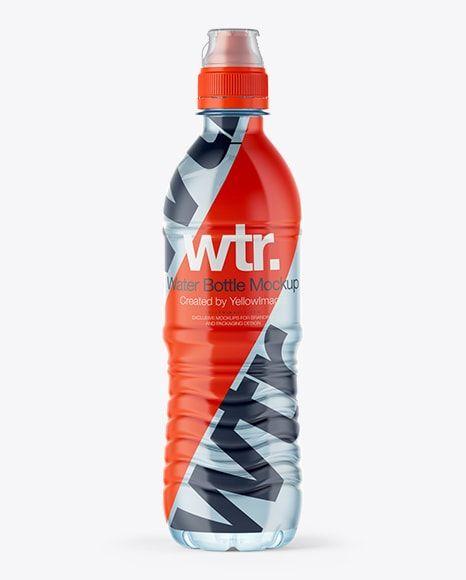 Download 500ml Sport Bottle With Shrink Free Mockup Pixelsdesign Net Bottle Mockup Free Mockup 500ml Water Bottle